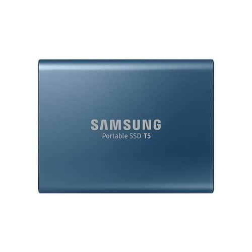 Samsung T5 Portable SSD - 500GB - USB 3.1 External SSD (MU-PA500B/AM) $152.99