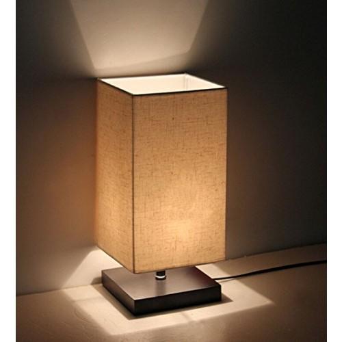 Minimalist Solid Wood Table Lamp Bedside Desk Lamp $14.99