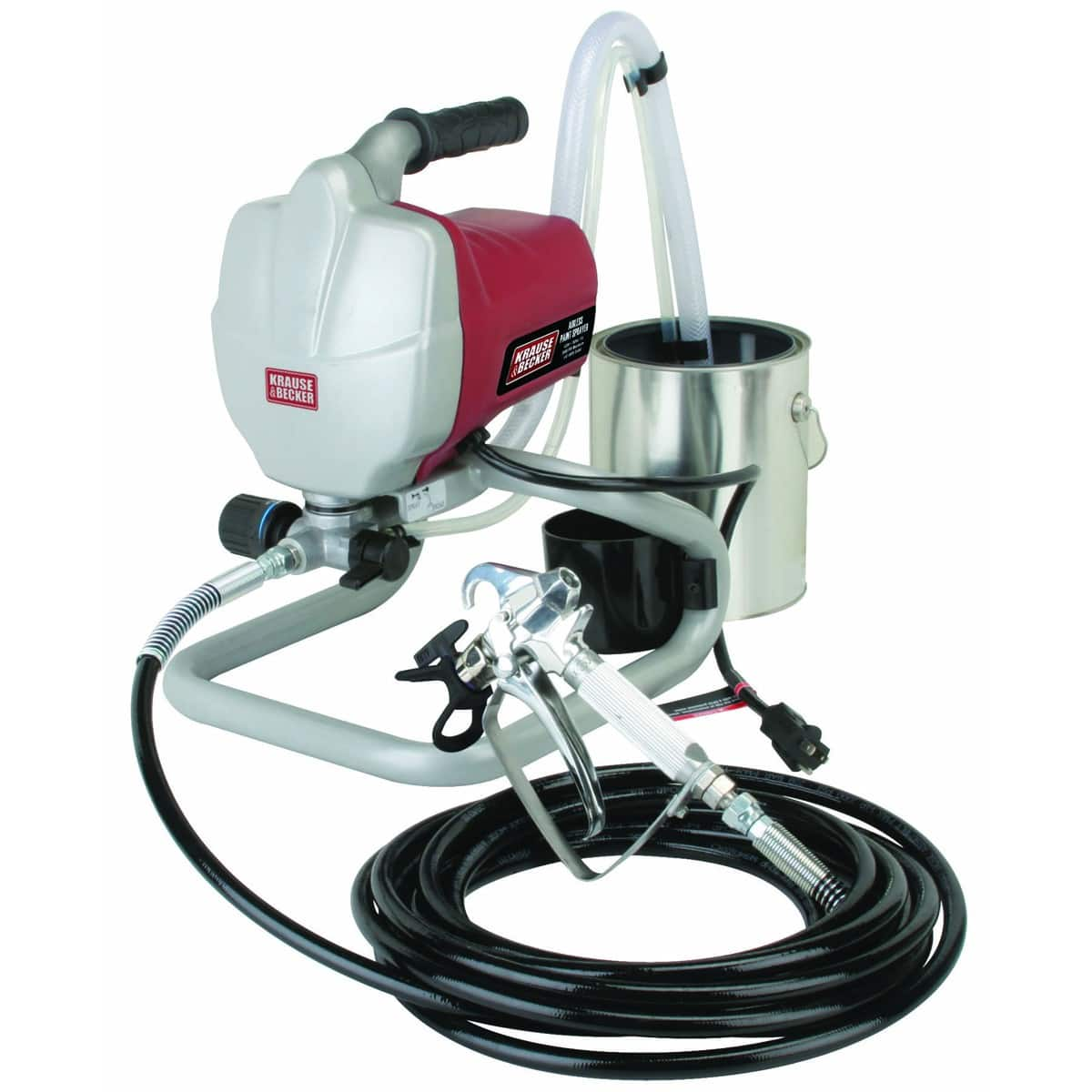 5/8 Horsepower Airless Paint Sprayer Kit $144 (was $300 now 180 - 20%) - Harbor Freight