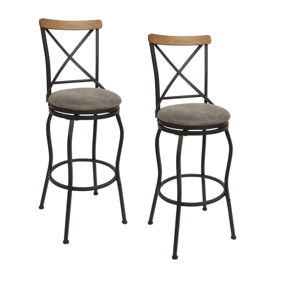 Lowes box of 2 padded adjustable  swivel stools were $150 now $49 big YMMV