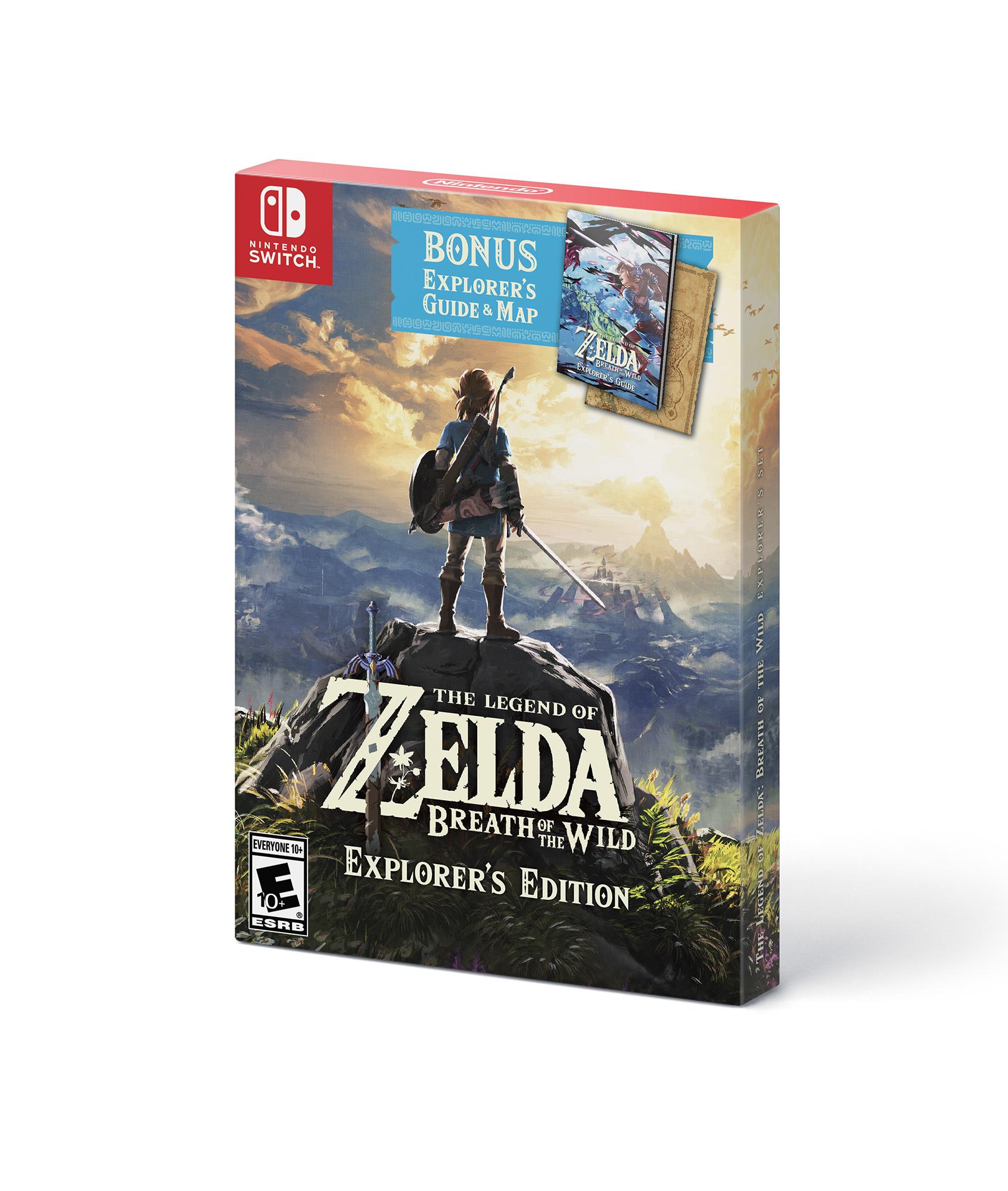 Walmart - Zelda Breath of the Wild Explorer ed. $49 pickup - YMMV
