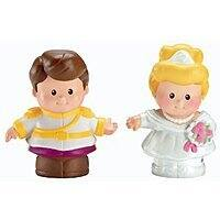 Amazon Deal: Fisher-Price Little People Disney Cinderella & Prince Charming 2-Pack- $1.98 Walmart Free Store Pick-Up (or Amazon add-on)