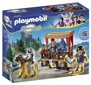 PLAYMOBIL Super 4 Royal Tribune with Alex (king/knight theme)- $8.84 Shipped Free with Prime on Amazon