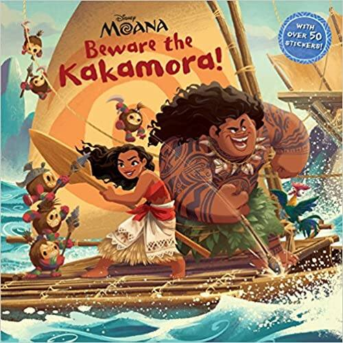 Beware the Kakamora! (Disney Moana) Paperback Book- $1.48 Free Ship w/Prime on Amazon