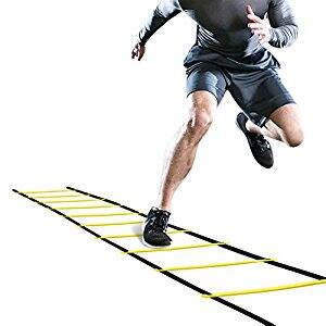 Agility Ladder Agility Training Ladder Speed Flat Rung with Carrying Bag, $7.97 (Regular $11.99)