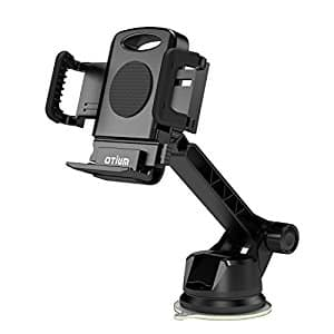 Car Mount Car Phone Holder Long Adjustable Arm with One-button, $5.93 (Regular $10.99)