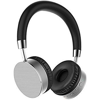 Lightweight On Ear Bluetooth Headphones (Silver) $9.95 + Free Shipping