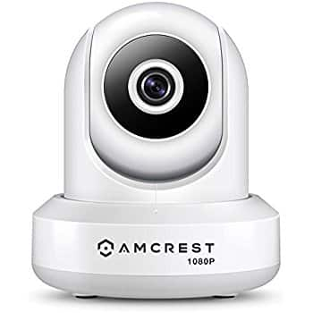 Amcrest ProHD 1080P WiFi Wireless IP Security Camera (white), $59.99