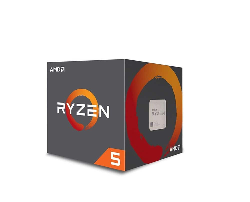 AMD Ryzen 5 2600X 6-Core Desktop CPU