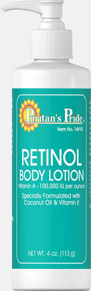 Retinol body  lotion vitamin A-100000-iu $1.6