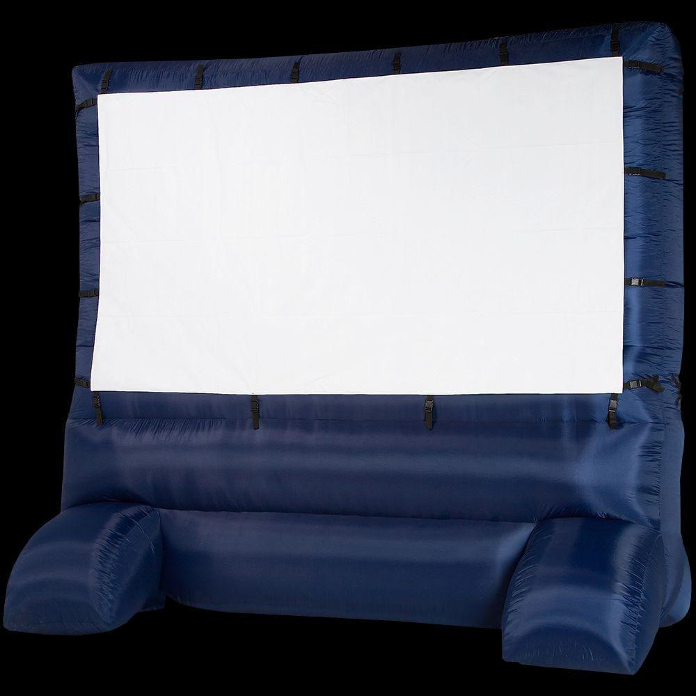 12\' Inflatable Diagonal Widescreen Airblown Movie Screen ...