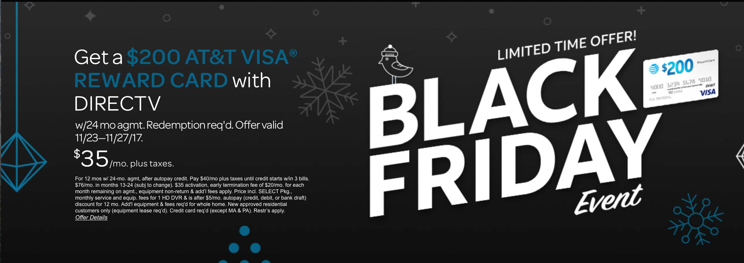 200 dollar visa gift card directv $200 Visa Gift Card   $300 in Credits for new DIRECTV customers ...