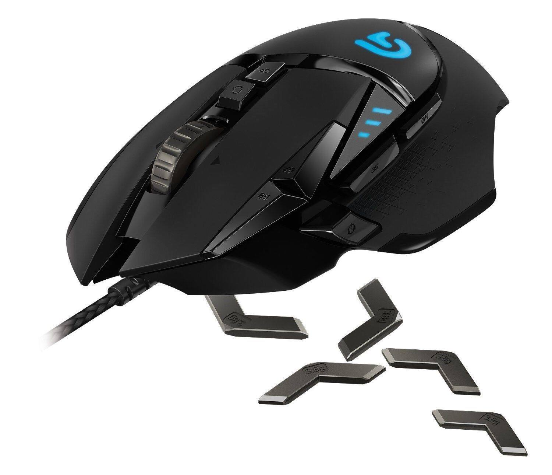 Logitech -Refurbished- G502 Proteus Spectrum RGB Optical Gaming Mouse $36.99