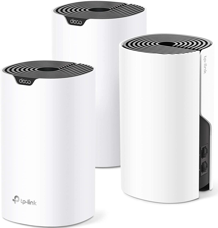 3-Piece TP Link Deco Mesh WiFi Systems: Deco S4 $130, Deco M3 $90, Deco M5 $150