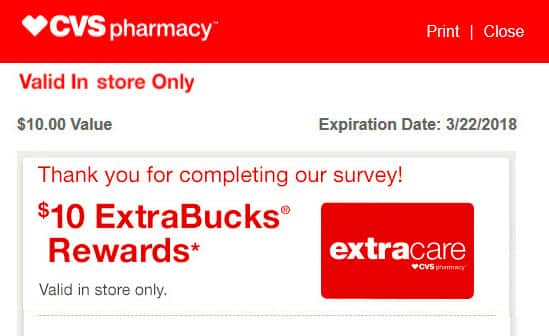 H/U to CVS Advisor Panel Members - Check your email for two New Surveys - pays $5.00 & $10.00 in CVS Extra Bucks Rewards