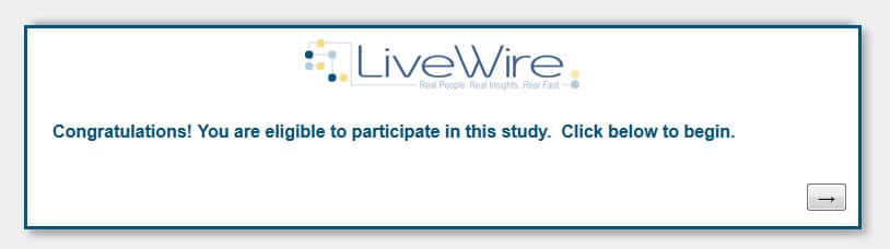 H/U: LiveWire Members check your email for a new survey - Pays $8.00 Act Quickly