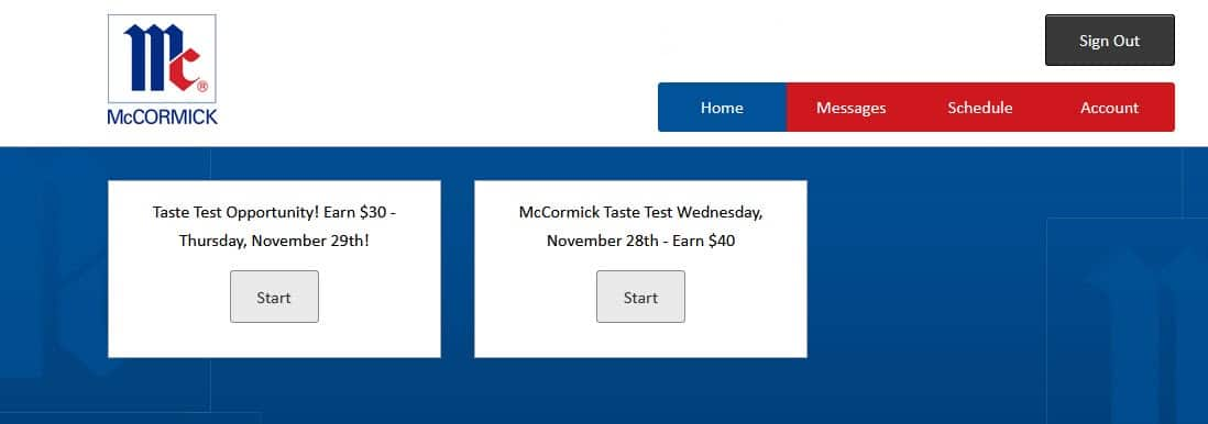 H/U: McCormick Consumer Testing Members - Check your email for a In-person taste test in the McCormick Consumer Testing Facility - Only for Hunt Valley, MD area - Pays $30.00+