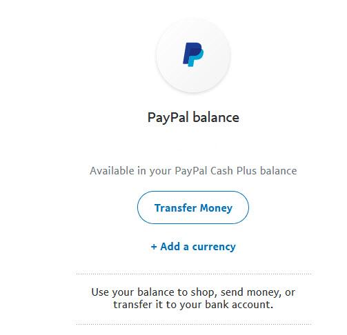 Cash Plus Balance
