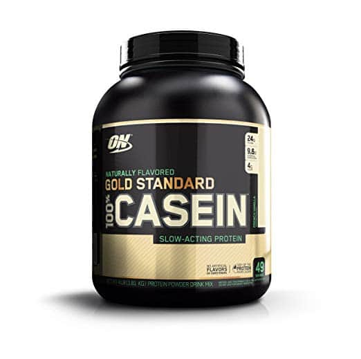 Optimum Nutrition Gold Standard 100% Casein Protein Powder, Naturally Flavored French Vanilla, 4 Lb $29.44 w/S&S