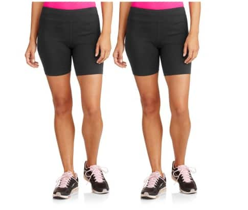 Danskin Now Women's Dri-More Core Bike Shorts, 2-Pack (YMMV) Showing USD 1 around my area on Brickseek $1