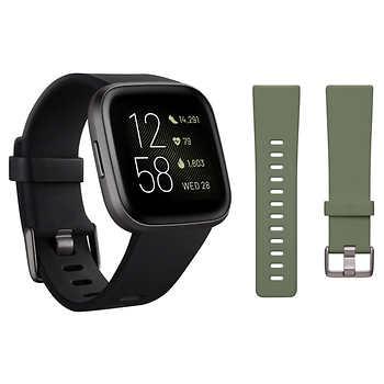 Fitbit Versa 2 Bundle Costco $139.99