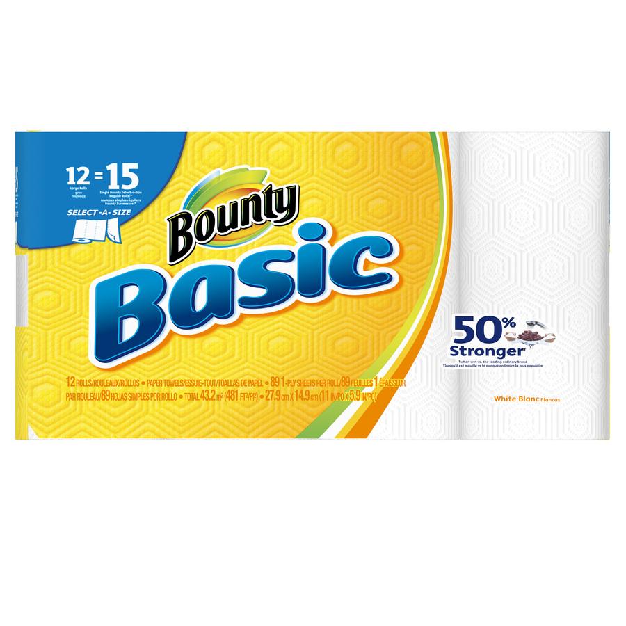 Bounty basics 12 pack 7.18 $7.18