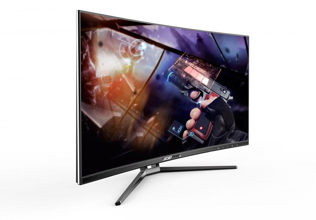 Sceptre 32 inch Curved Gaming monitor 144hz AMD FreeSync Wall Mount Ready. $299