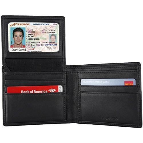 Blocking Leather Wallet for Men $20.99