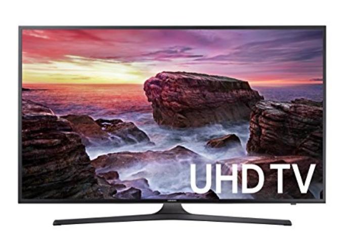 """49"""" 4k samsung tv mu6290 $328.78"""
