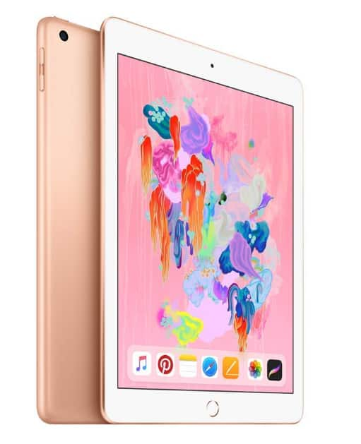 Apple iPad (Wi-Fi, 32GB) - Gold (Latest Model) for 280$ $280