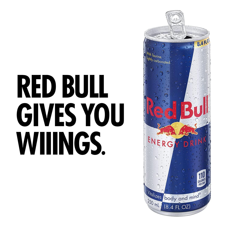 Red Bull Energy Drink, 8.4 Fl Oz (24 Count) $26.49 @ Amazon S&S