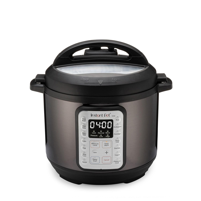 Instant Pot Viva Black Multi-Use 9-in-1 6 Quart Pressure Cooker - Walmart $59