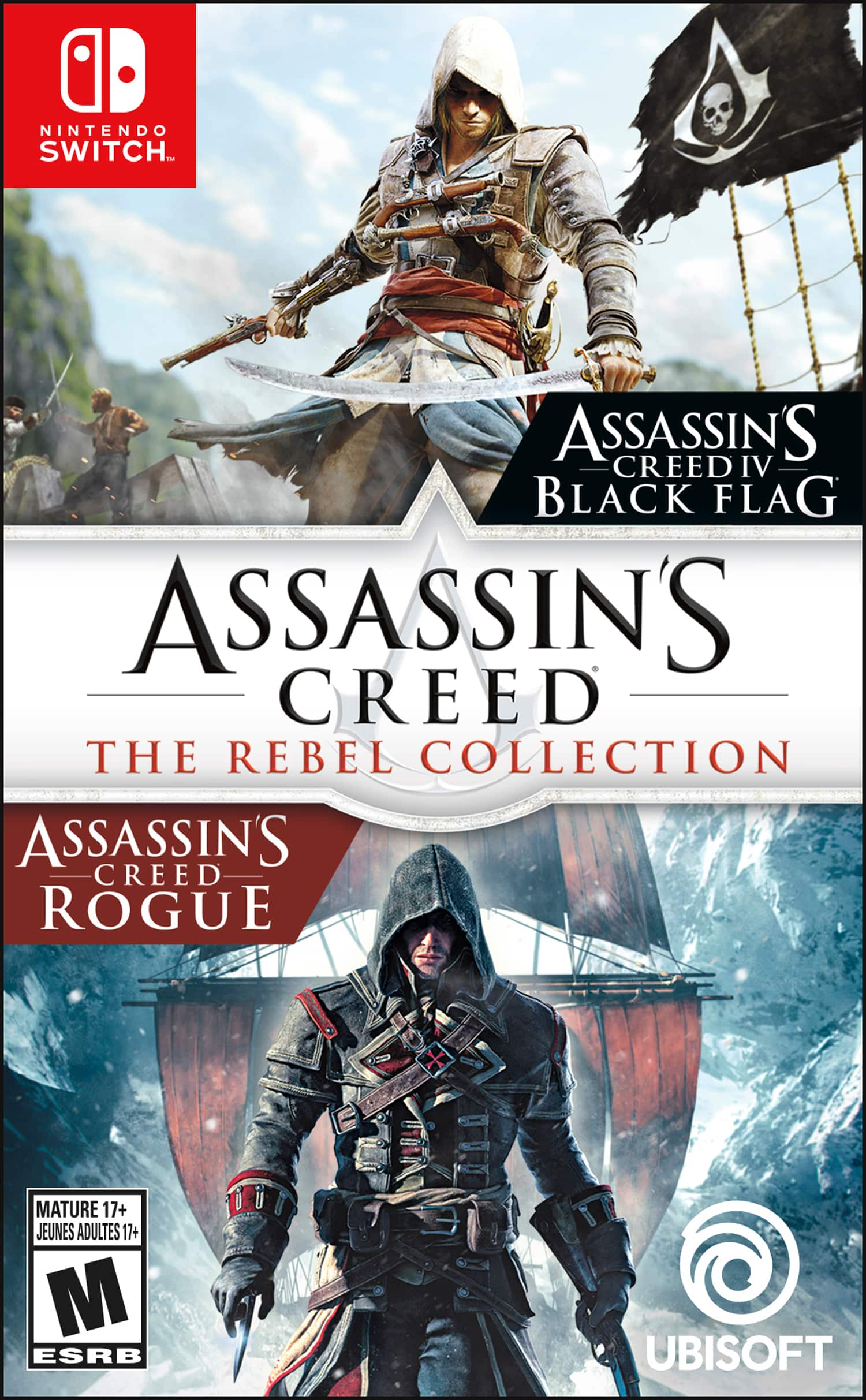 Assassin's Creed: The Rebel Collection-Nintendo Switch $19.99