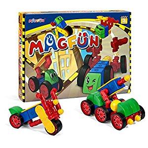 Magfun 50pcs 3D Magnetic Building Blocks Toy Set for $29.92 AC + FS @Amazon