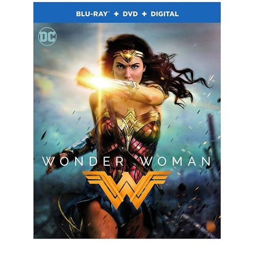 Wonder Woman Blu-Ray/Digital/ DVD $9.99