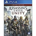 Assassin's Creed Unity (Limited Edition) - PS4 $15.04 - XB1 $13.76 - Amazon