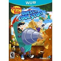 Amazon Deal: Phineas And Ferb: Quest For Cool Stuff (Wii U, 3DS, DS, Xbox 360) - $13 - Amazon