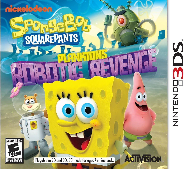 SpongeBob SquarePants: Plankton's Robotic Revenge - Nintendo 3DS - $5 ($4 GCU) - Best Buy
