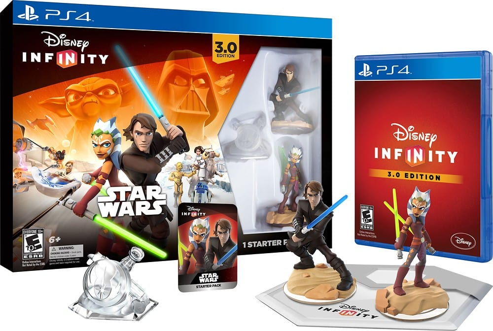 Disney Infinity 3.0 Starter Pack (All Systems) - $40 ($32 GCU) - Best Buy