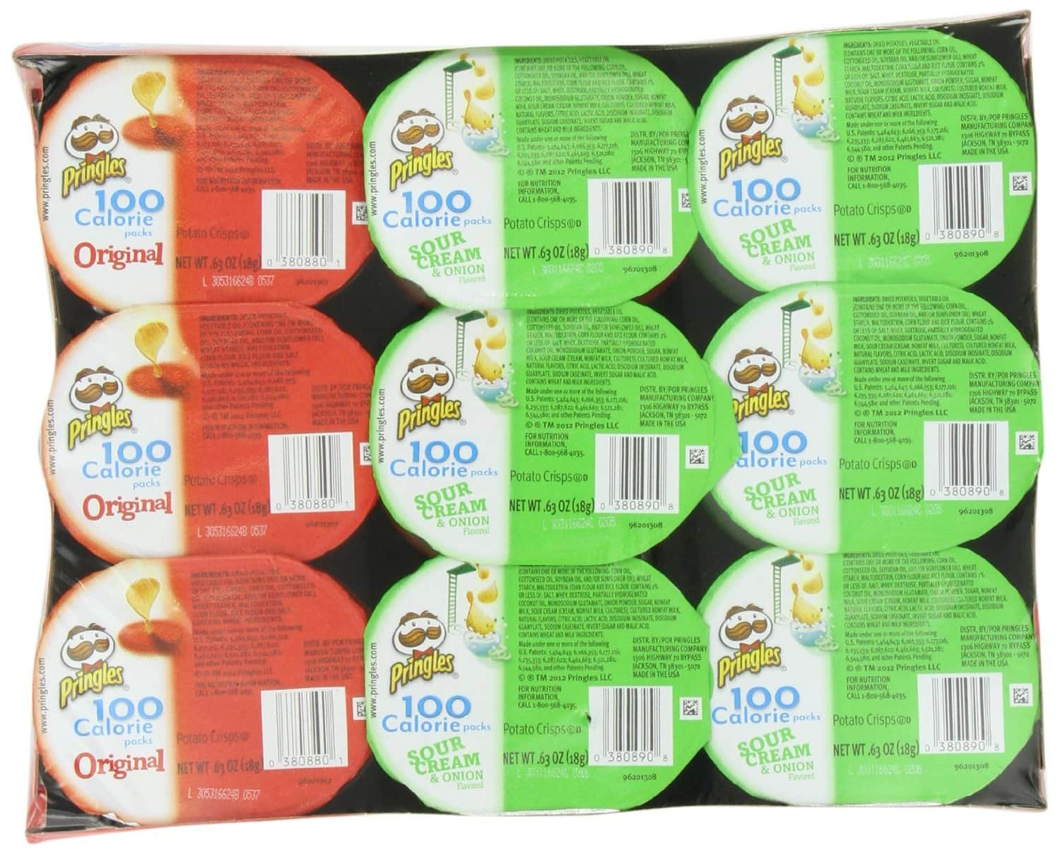 18-Count Pringles Snack Stacks - As Low As $3.89 - Amazon S&S