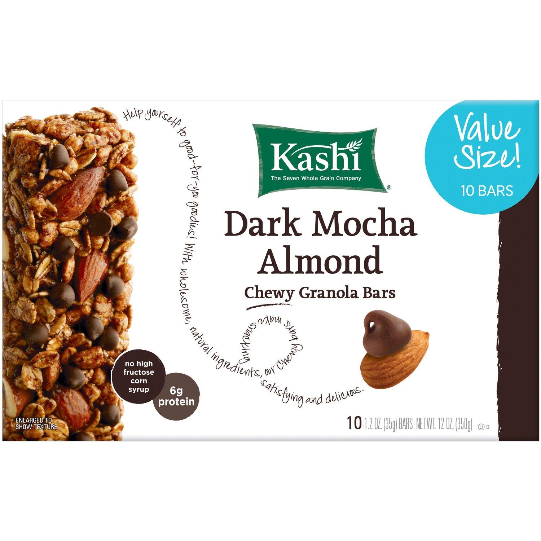 10-Count Kashi Chewy Granola Bar (Dark Mocha Almond) - As Low As $2.99 - Amazon S&S