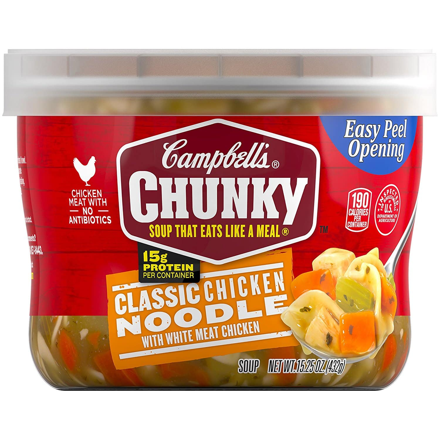 8-Count of Campbells Microwavable Soups - As Low As $5.58 - Amazon S&S
