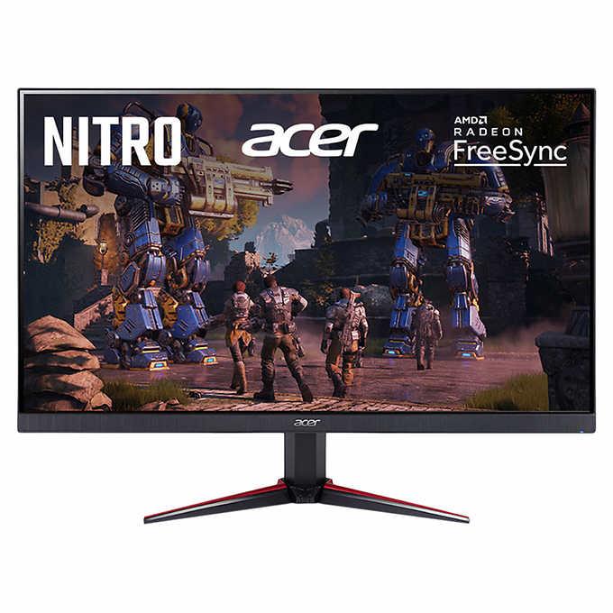 Acer Nitro 27 Class FHD IPS FreeSync Gaming Monitor 75Hz 1ms  - Costco $149.99