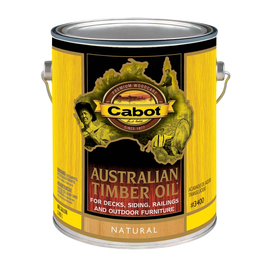 Cabot Australian Timber Oil Stain + Sealant $21 @ Lowes