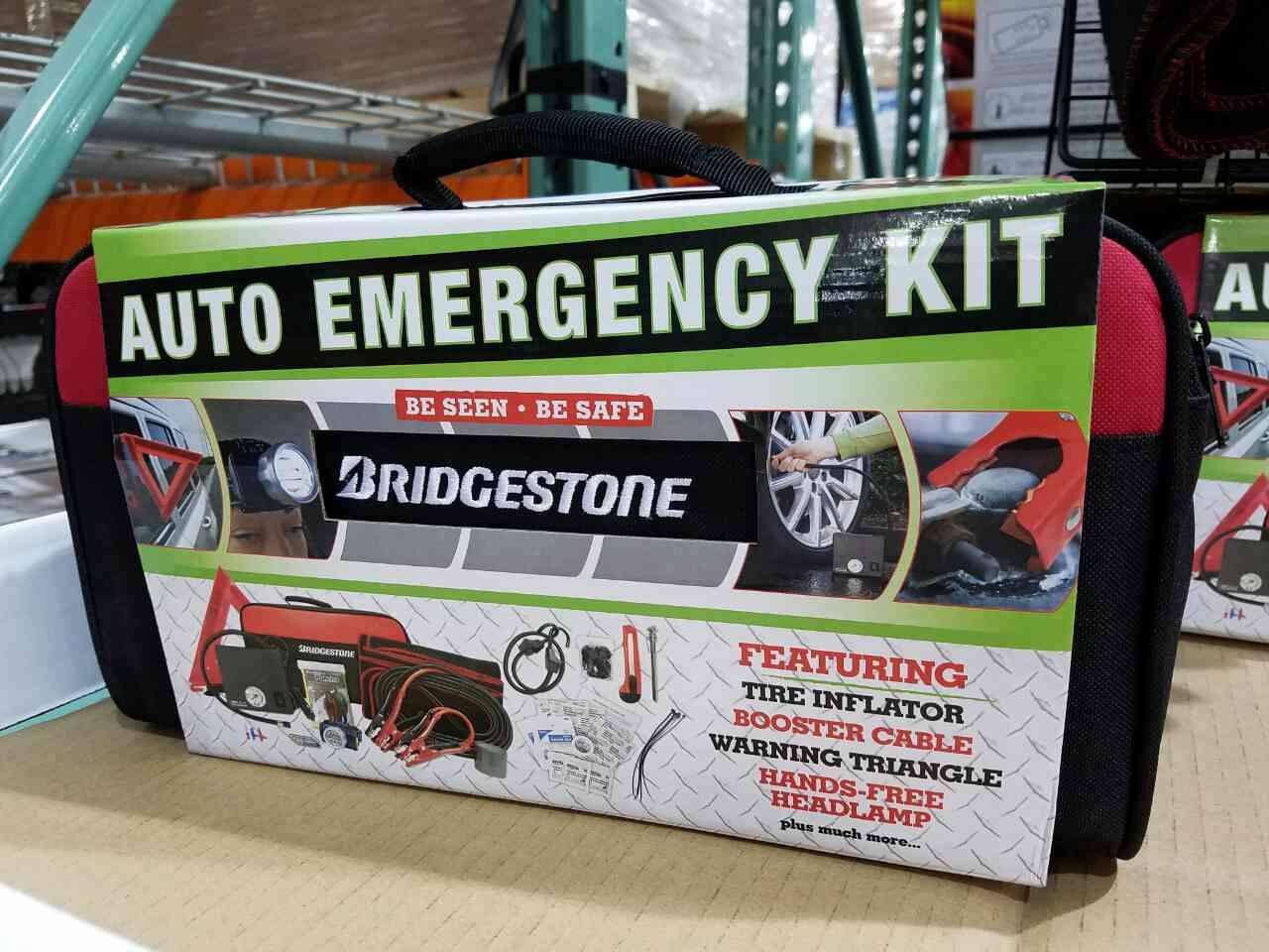Bridgestone Auto Emergency Kit $19.99 in store @ Costco