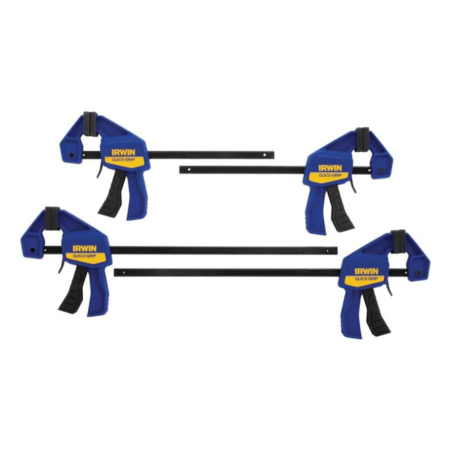 IRWIN QUICK-GRIP 4-Pack 6-in Clamps $19.98 @ Lowes + FS w/ MyLowes