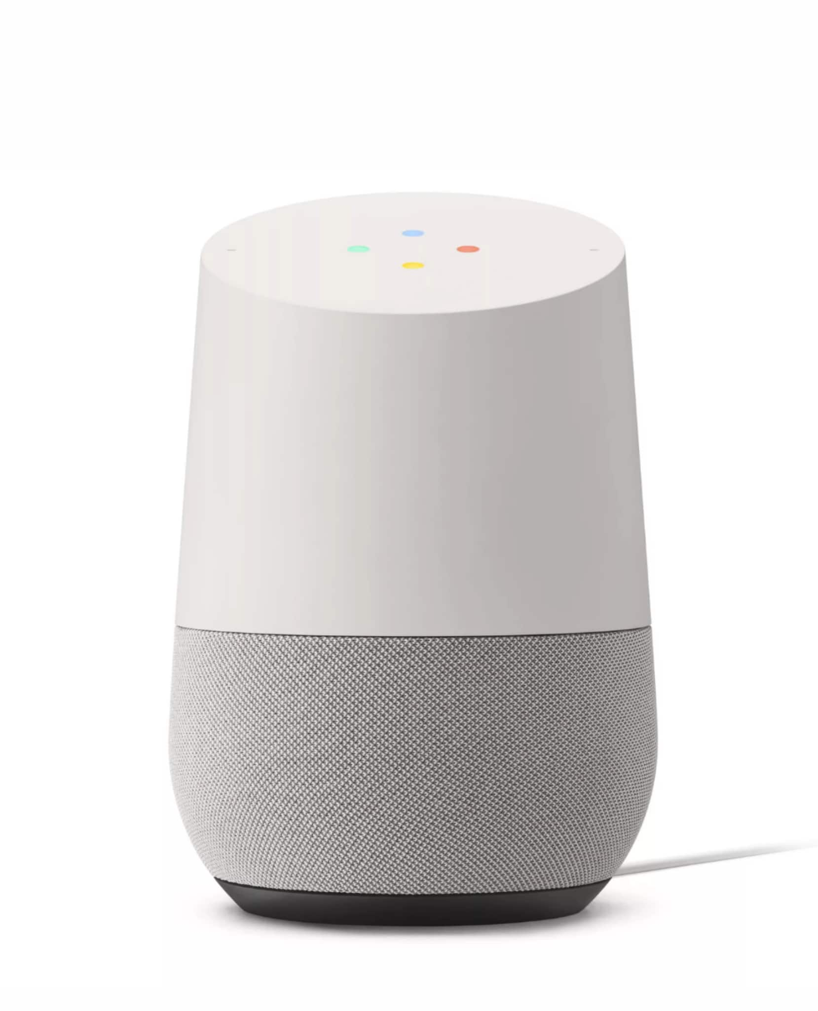 Google Home Smart Assistant - White Slate (US) + Free shipping $45