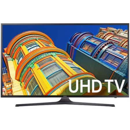 "Samsung 55"" Class 4K (2160P) Smart LED TV (UN55KU6290) $449 YMMV B&M"