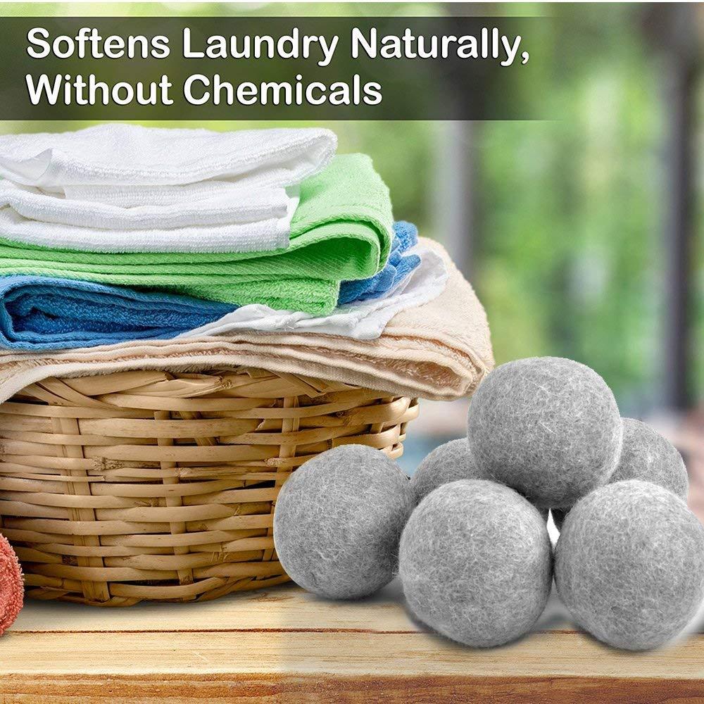 Wool Dryer Balls (10 pcs) - $9.99 fs w/prime