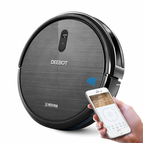 ECOVACS DEEBOT N79 Robotic Vacuum Cleaner with $50 off using coupon for Amazon prime members $199.98